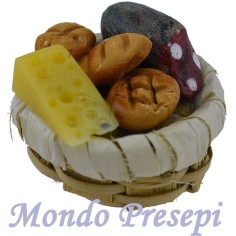 Basket cm 3 with food