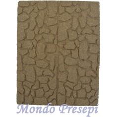 Mondo Presepi Pannello rocce Cm 25x20x1