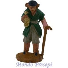 Mondo Presepi Cm 4,5 Pastore con bastone