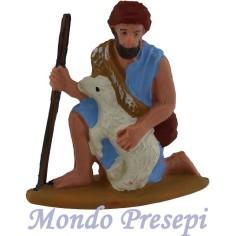 Mondo Presepi Cm 7 Pastore con pecora