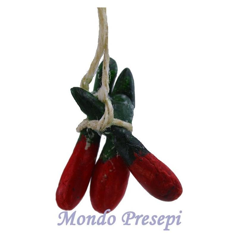 Mondo Presepi Ceppo peperoncino