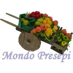 Carretto frutta e verdura lux piccolo cm 9