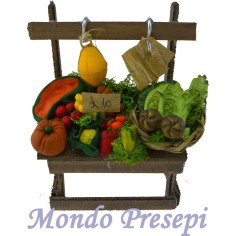 Banco frutta e verdura lux cm 10