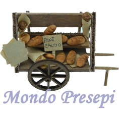 Cart with bread lux 9.5 cm