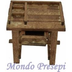 Tavolo effetto legno cm 5x2,5 - Cod. MF71