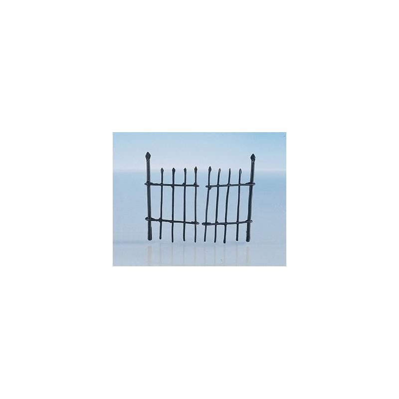 Mondo Presepi Cancello cm 4x7 in metallo cm 10x3,5 - FRC40