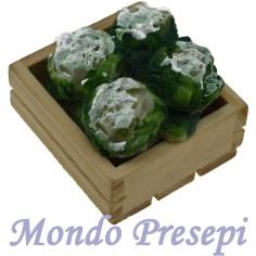 Mondo Presepi Cassetta lux cavolfiori cm 3x2,8