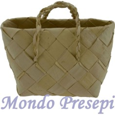 Bag in wicker cm 4,5