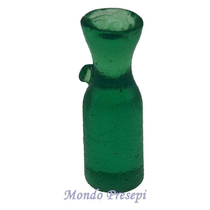 Set 3 bottiglie cm 3,2 verdi