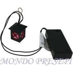 Lantern led with battery box