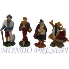 Mondo Presepi Cm 10 Set 4 statue -GST