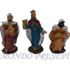 Set of 4 statues cm 10 -GST