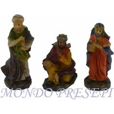 6 cm Nativity set of 3 subjects