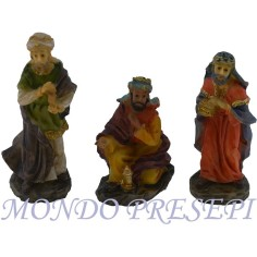 6 cm Nativity set of 3 subjects