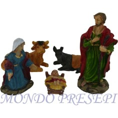 Cm 10 Nativity resin 5 subjects - NT105
