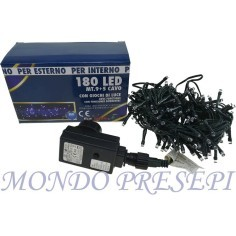 Chain, Led christmas 180 Blue Ø5mm with controller for internal and external