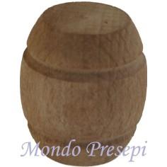 Botte in legno cm 3 - Cod. MU01