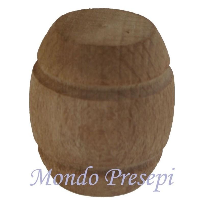 Wooden barrel 3 cm - Cod. MU01