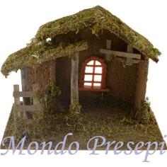 Capanna in legno con finestra - Cod. CPNVF