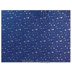 Mondo Presepi Carta cielo metallizzata Cm 100x70