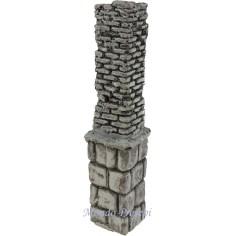 Column ruin cm 3,5x3,5x18,5 h.