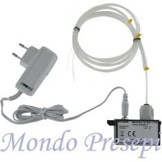 Illuminatore con fascio 30 fibre ottiche alimentatore incluso