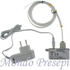 Illuminator flicker with 30 beam fiber optics power supply