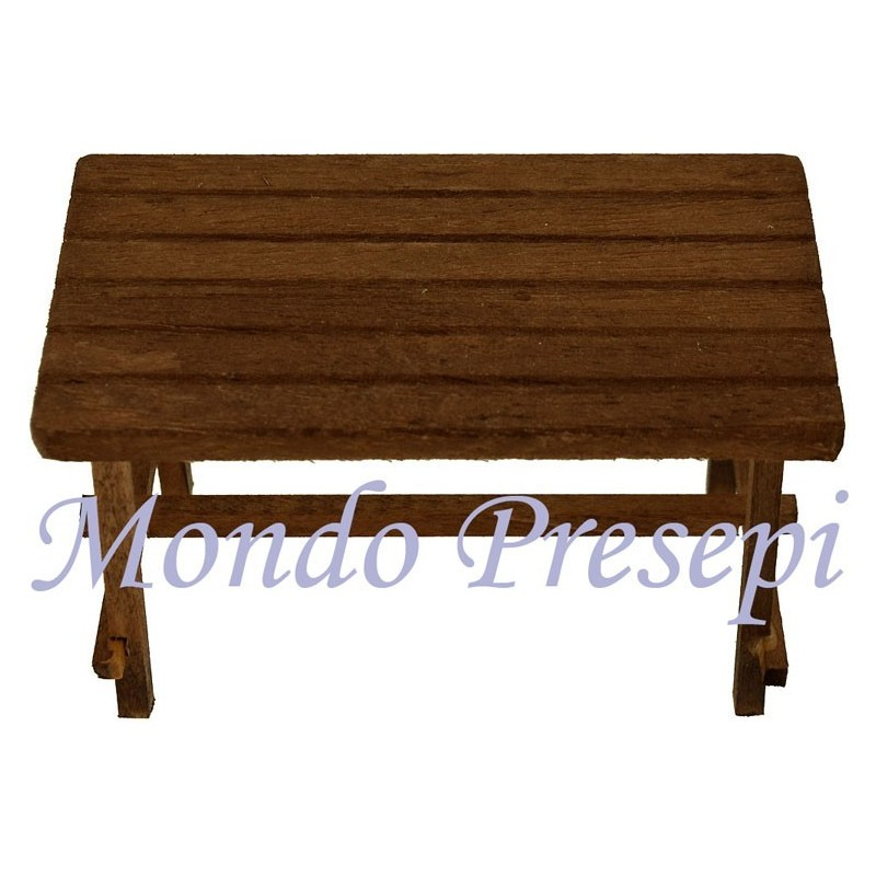 Mondo Presepi Tavolo in legno cm 10x5,5x5