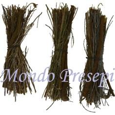 Set of 3 kindling-wood cm 8-9