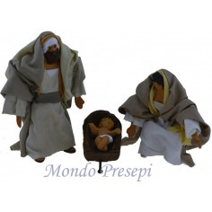 Palestinian nativity 10-11 cm jointed