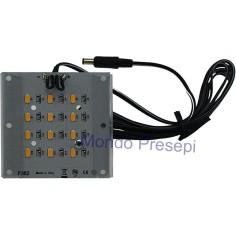 Mondo Presepi Lampada 12V. 4W luce calda diffusa