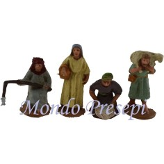 3.5 Cm set of 4 figures