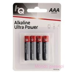 4 Pile ministilo alkalina Toshiba AAA - LR03