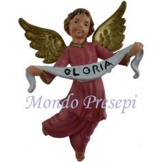 Mondo Presepi Angelo gloria cm 7,5 h. d'appendere