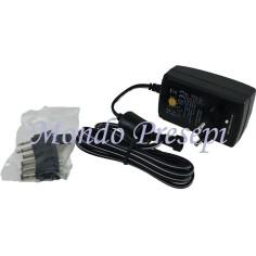 Alimentatore switching stabilizzato multitensione 3-12V 2250mA