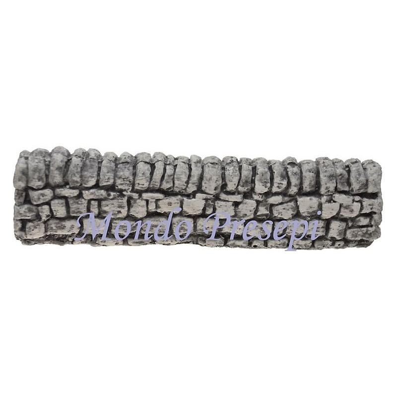 Mondo Presepi Muretto in pietra cm 19