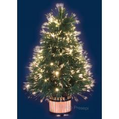 Christmas tree Pink 45H. Fiber Optic Gradient