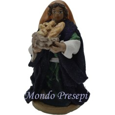 Cm 9 Woman with a basket of bread