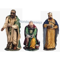 Set of three King magi 30 cm