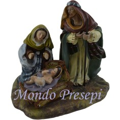 Nativity in resin 10 Cm - 3 subjects