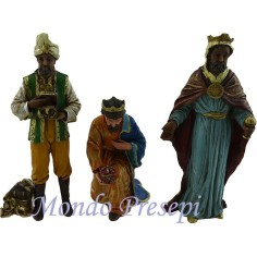 The nativity Pigini 13 cm resin
