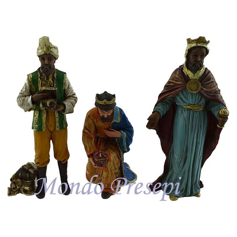 The nativity Pigini 13 cm resin