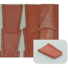 Coppi in terracotta mm 25x45 busta da 150 pz