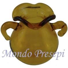 Mondo Presepi Vasetto in vetro cm 1,8
