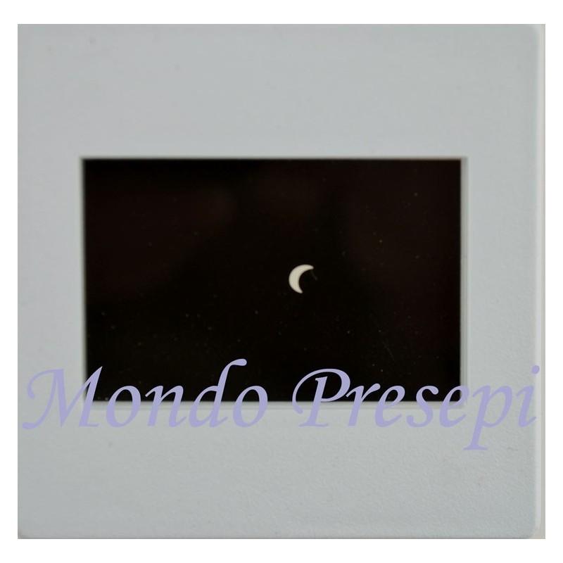Mondo Presepi Diapositiva quarto di luna