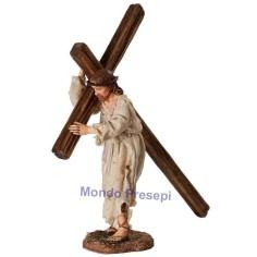 Gesù al calvario cm 30