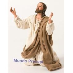 Mondo Presepi Gesù in preghiera cm 30