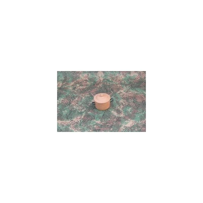 Mondo Presepi Pentola con coperchio ø 2,5 in terracotta