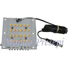 Lamp 12V. 7W warm light spread