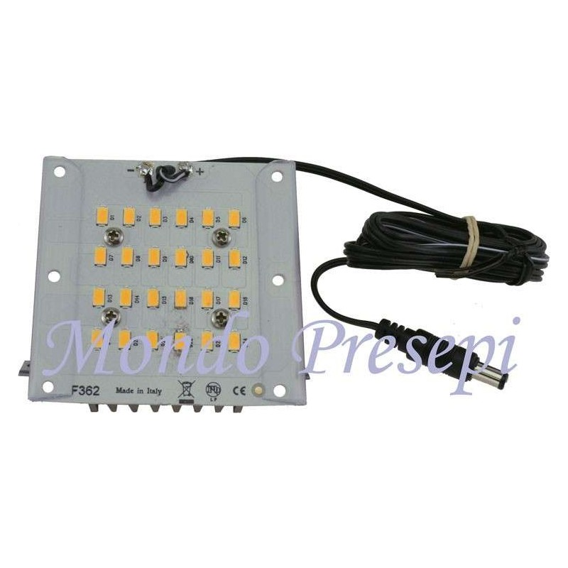 Lampada 12V. 7W luce calda diffusa